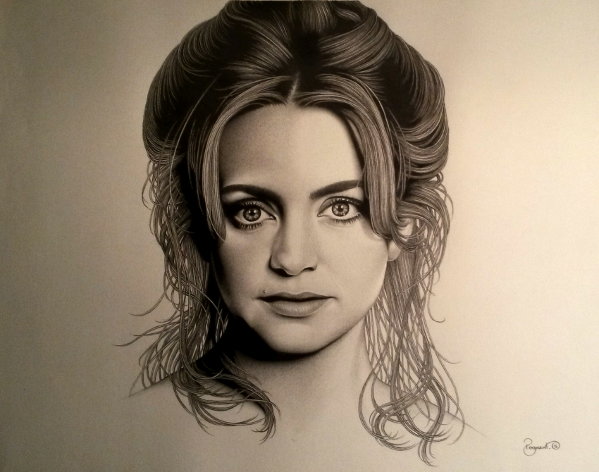 Goldie Hawn by BudPog